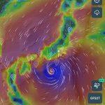 台風14号について