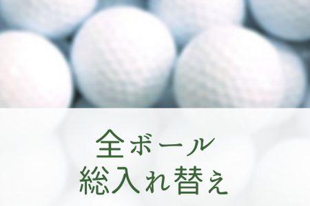 3月31日ボール全球入れ替え!